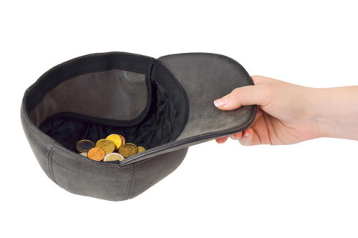 begging cap