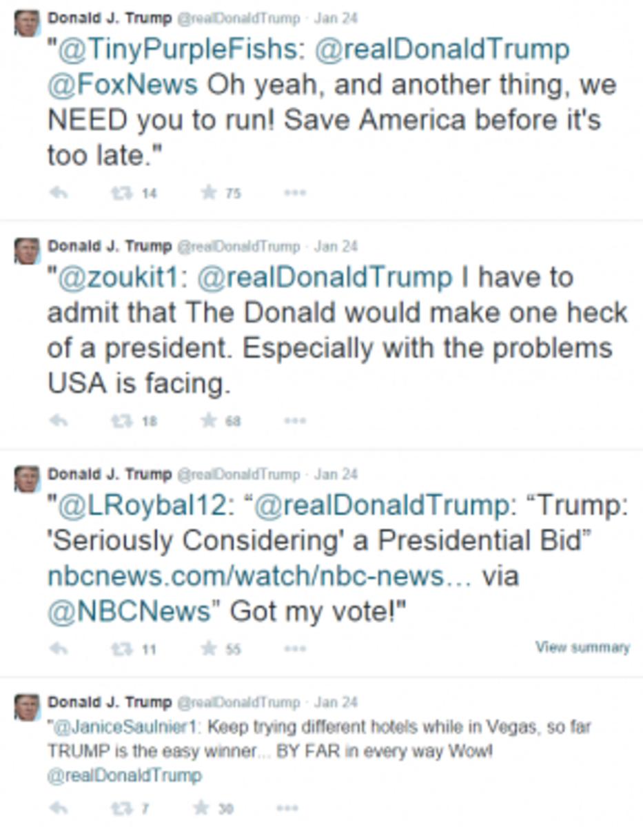 Donald J. Trump  @realDonaldTrump Twitt