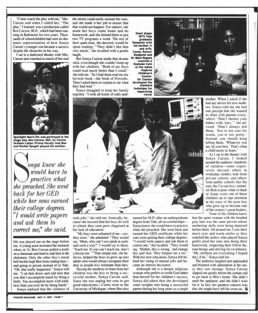 parade 5-11-1997 pg 49