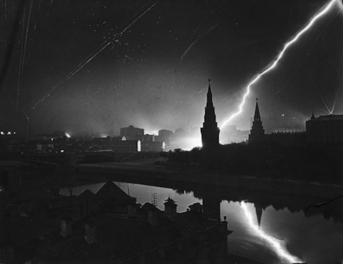german air raid moscow 1941