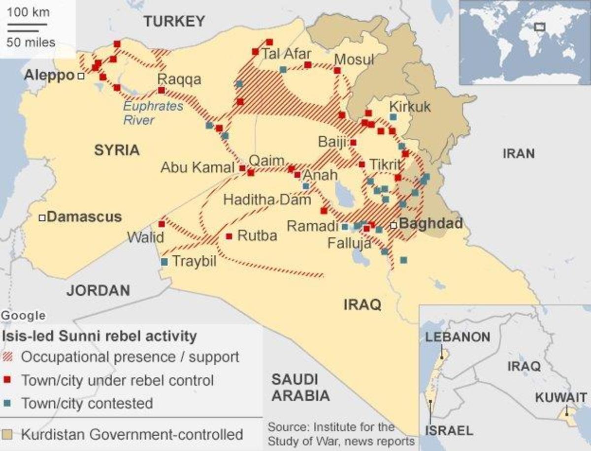 ISISmap