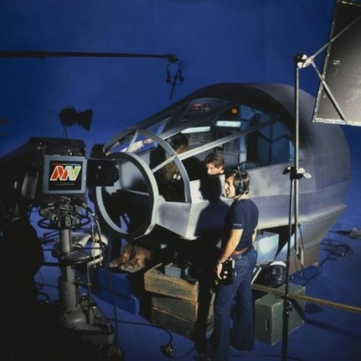 Filming star wars inside
