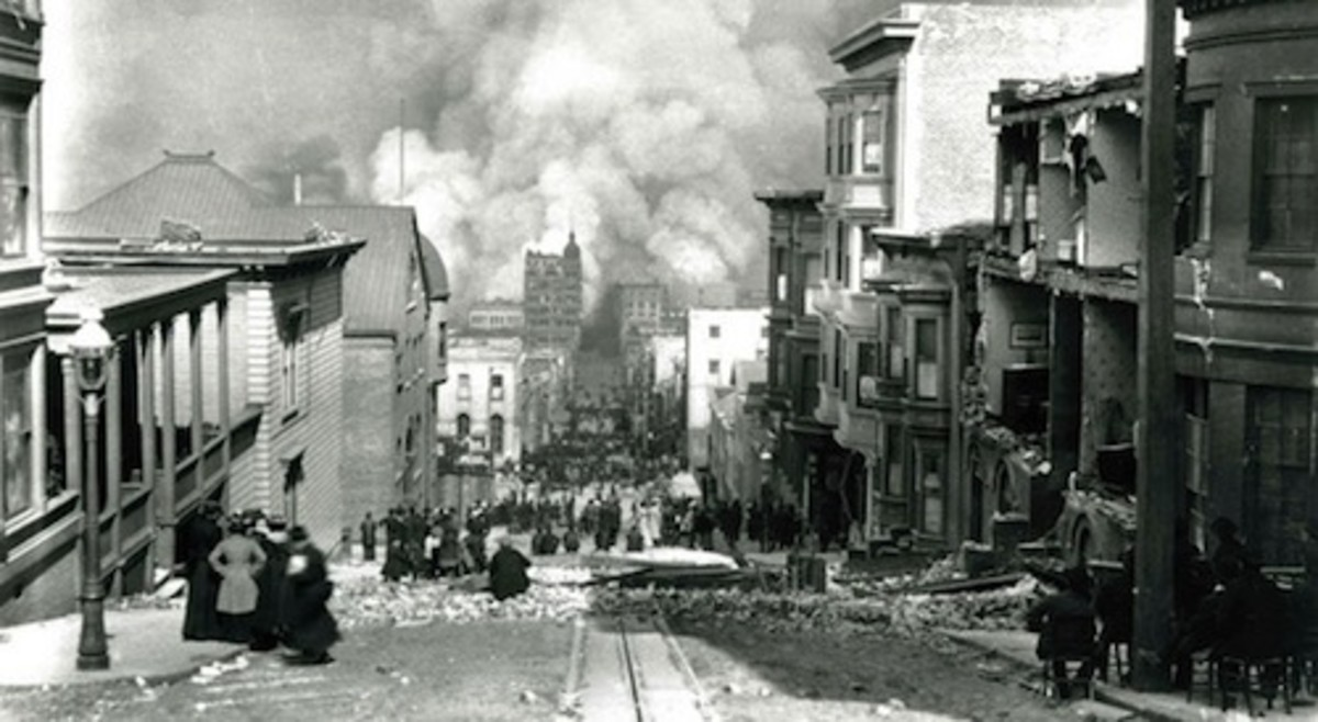 The Great San Francisco Fire and Earthq