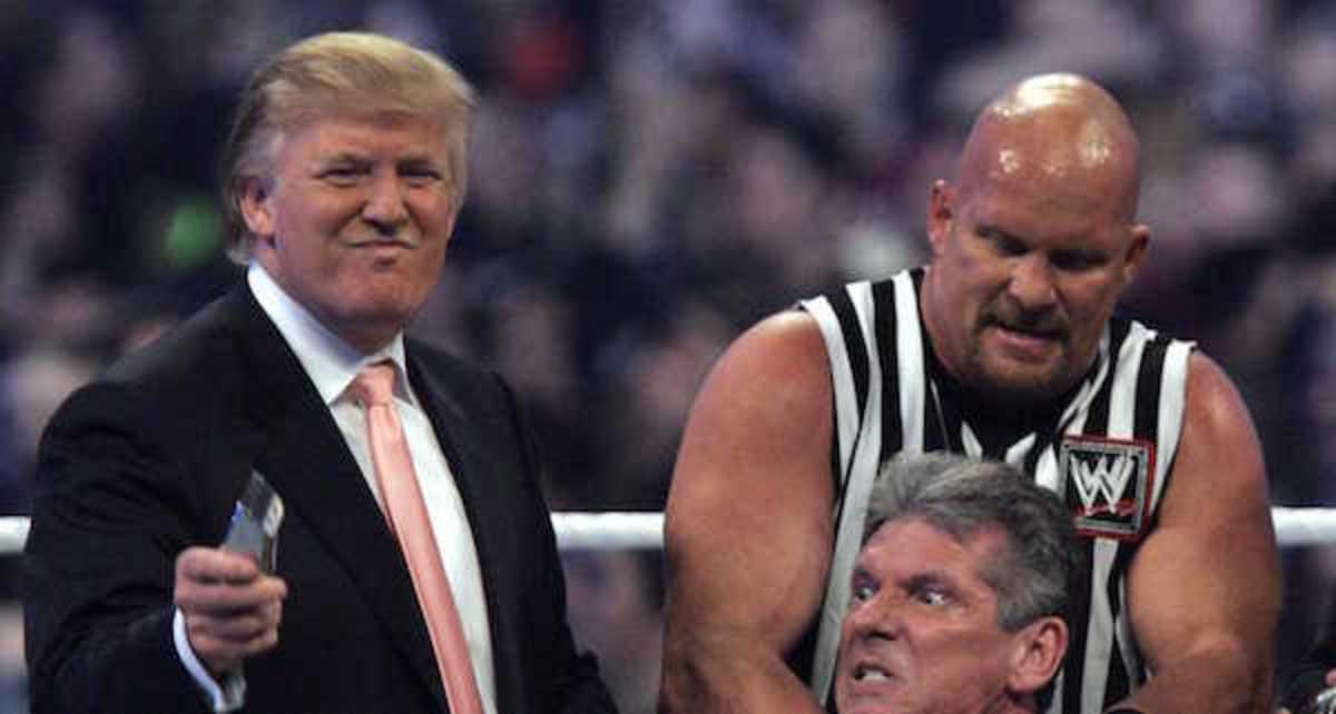 Donald Trump WWE Wrestling