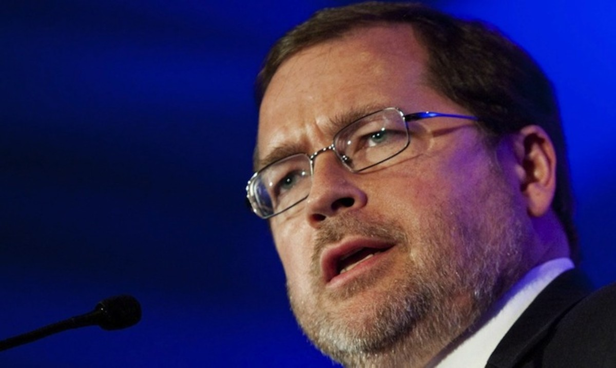 Image: Grover Norquist, chairman of Ame