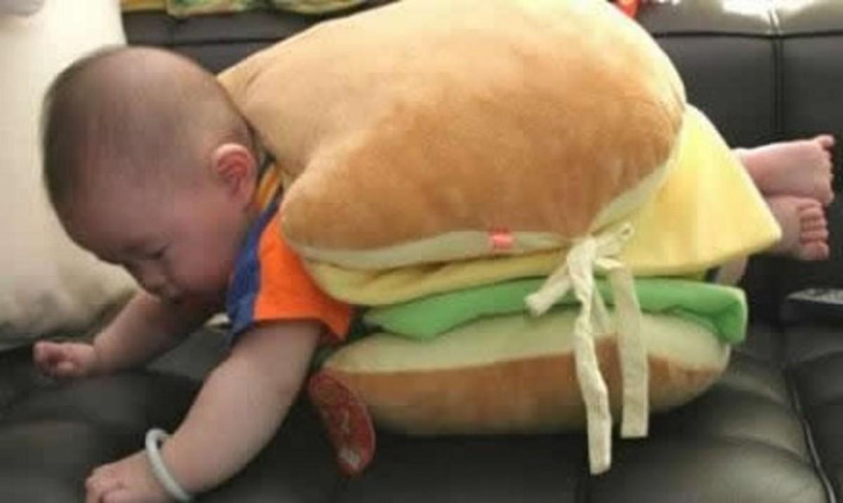 Burger-Baby-Costume