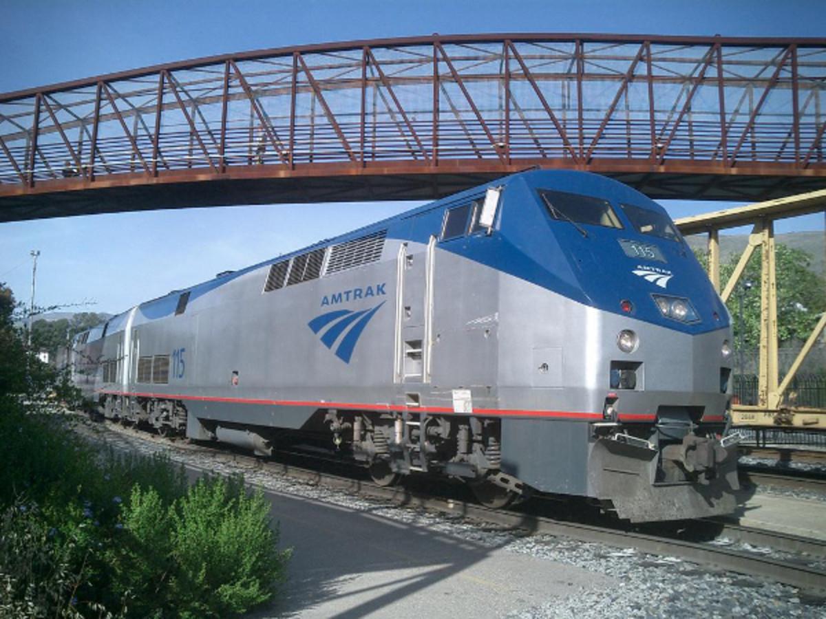 Amtrak train