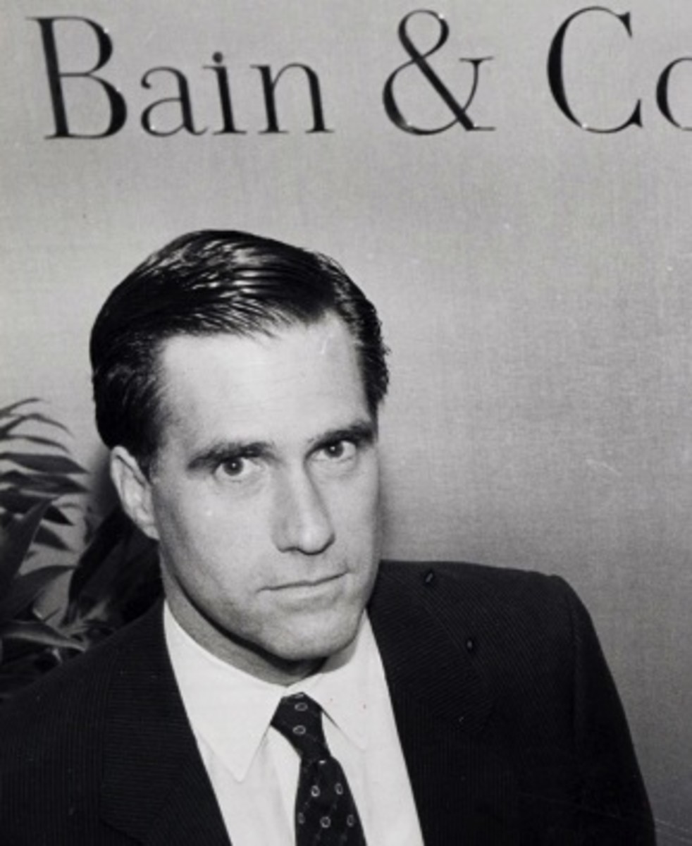 Mitt Romney At Bain & Company, Inc.