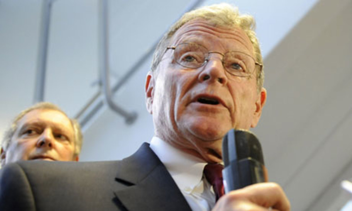 Jim Inhofe, Republican senator