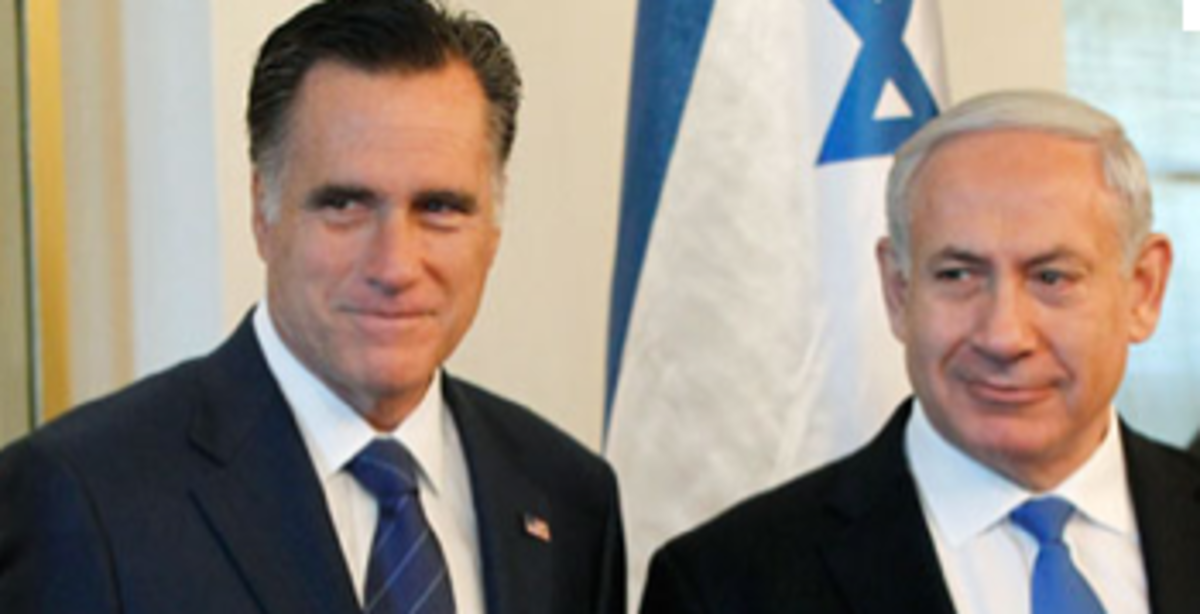 Romney Netanyahu