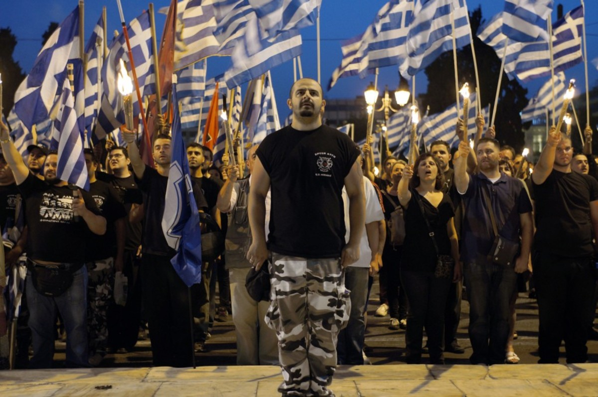 GREECE-RACISM-GOLDEN-DAWN