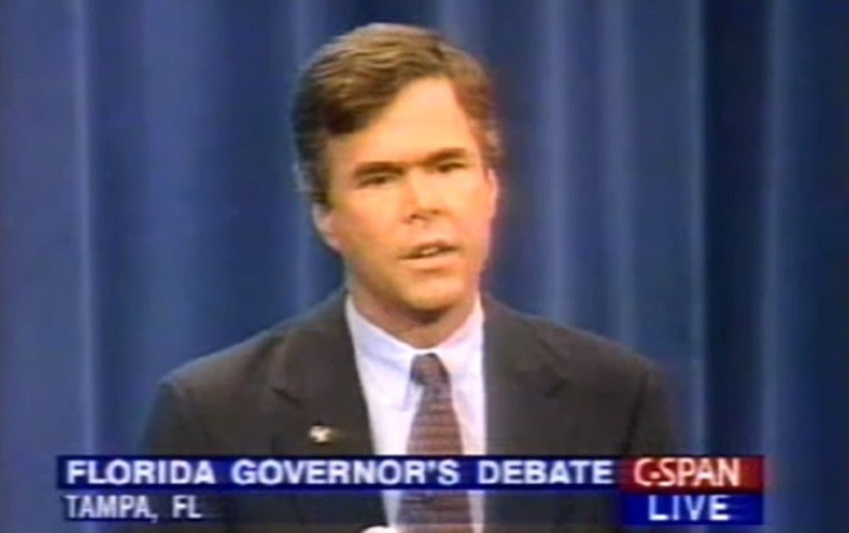 Jeb Bush Quotes How Jeb Bush Proved His Own Willie Hortonstyle Ad Was A Lie  The