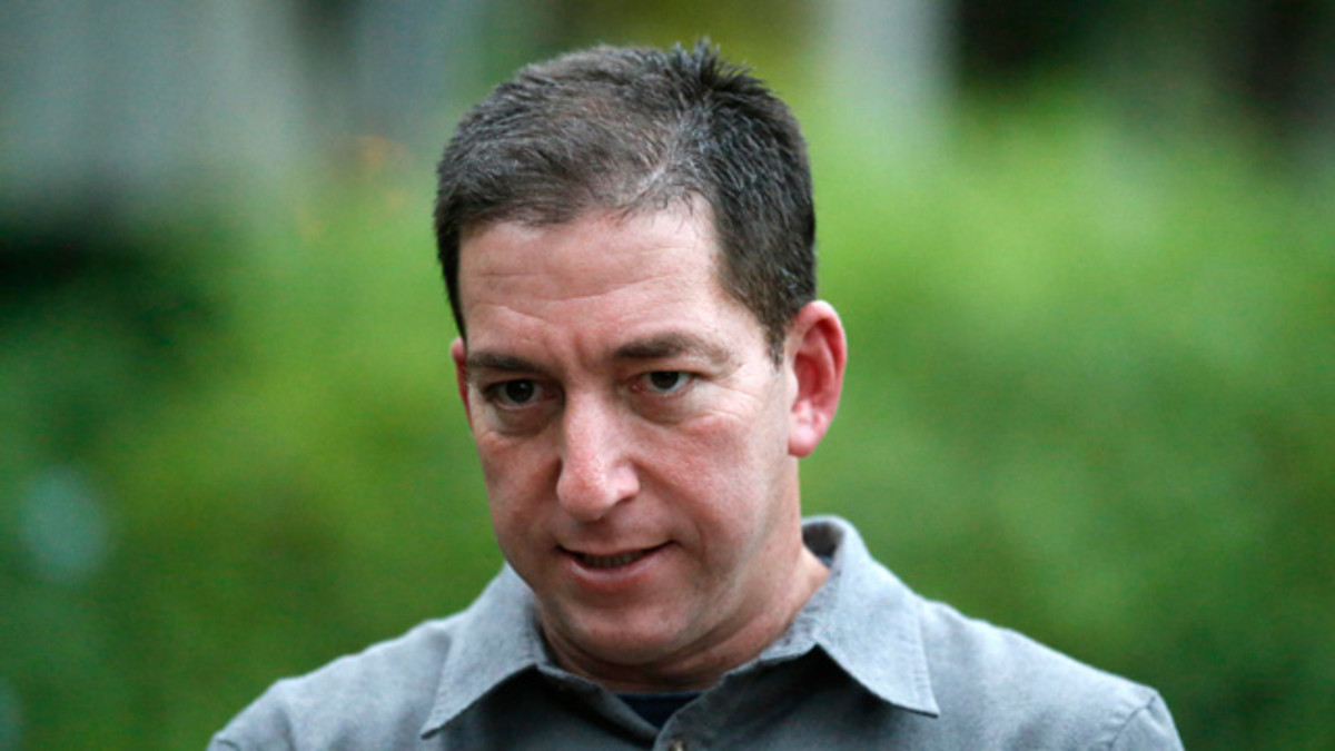 Guardian journalist Glenn Greenwald in