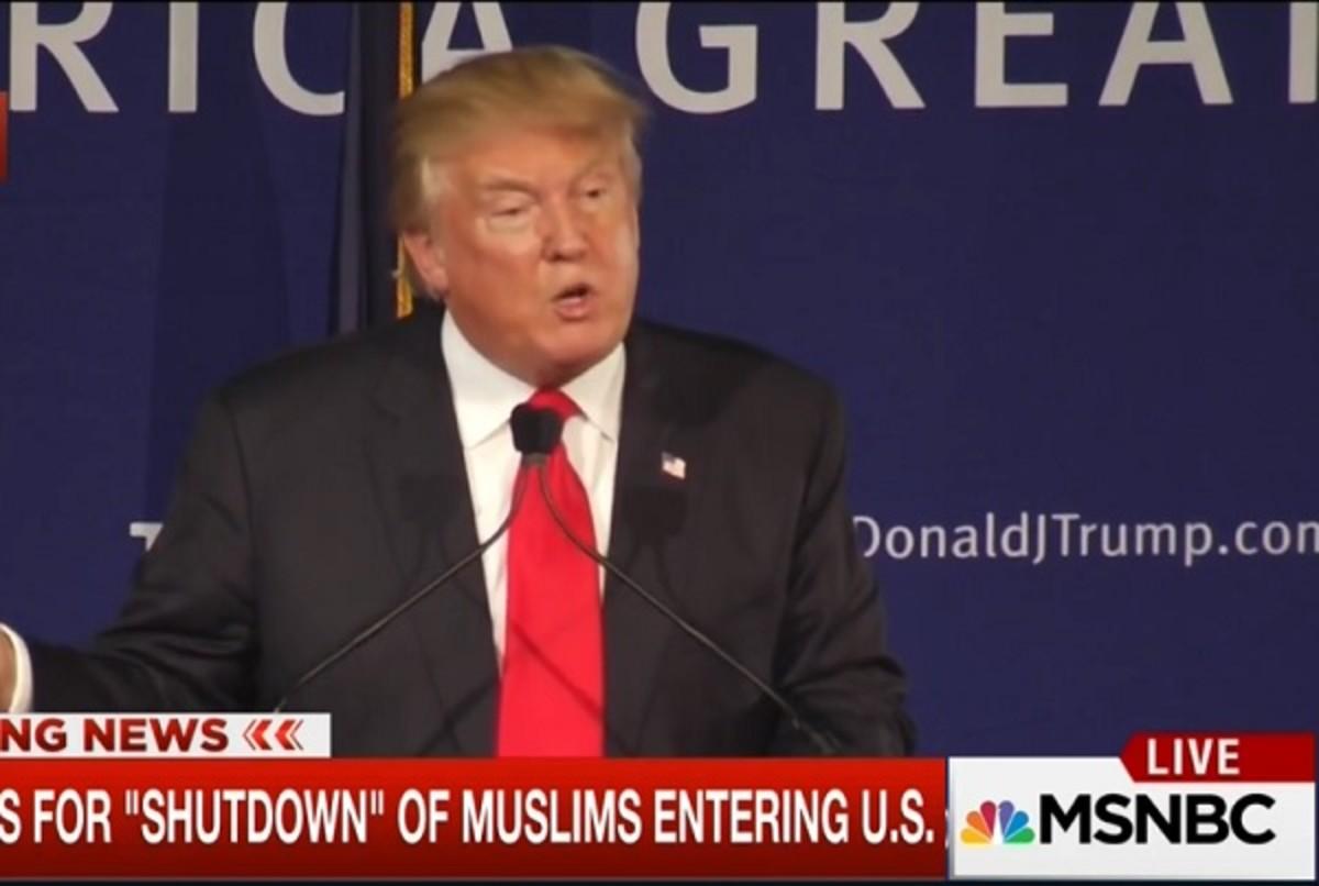 trump live
