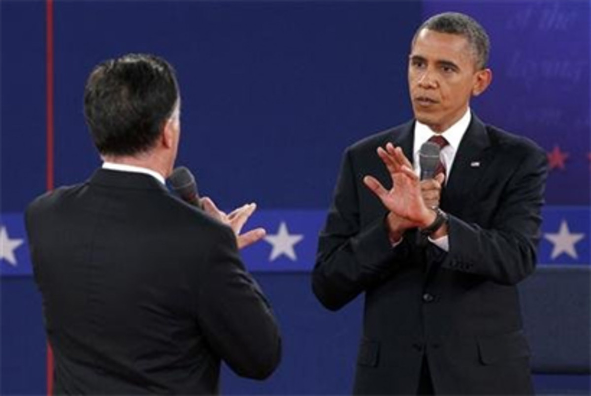 Obama Rips Romney in Final Debate  The Best Lines