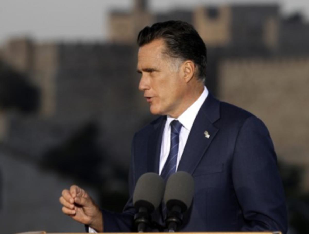 Romney Israel