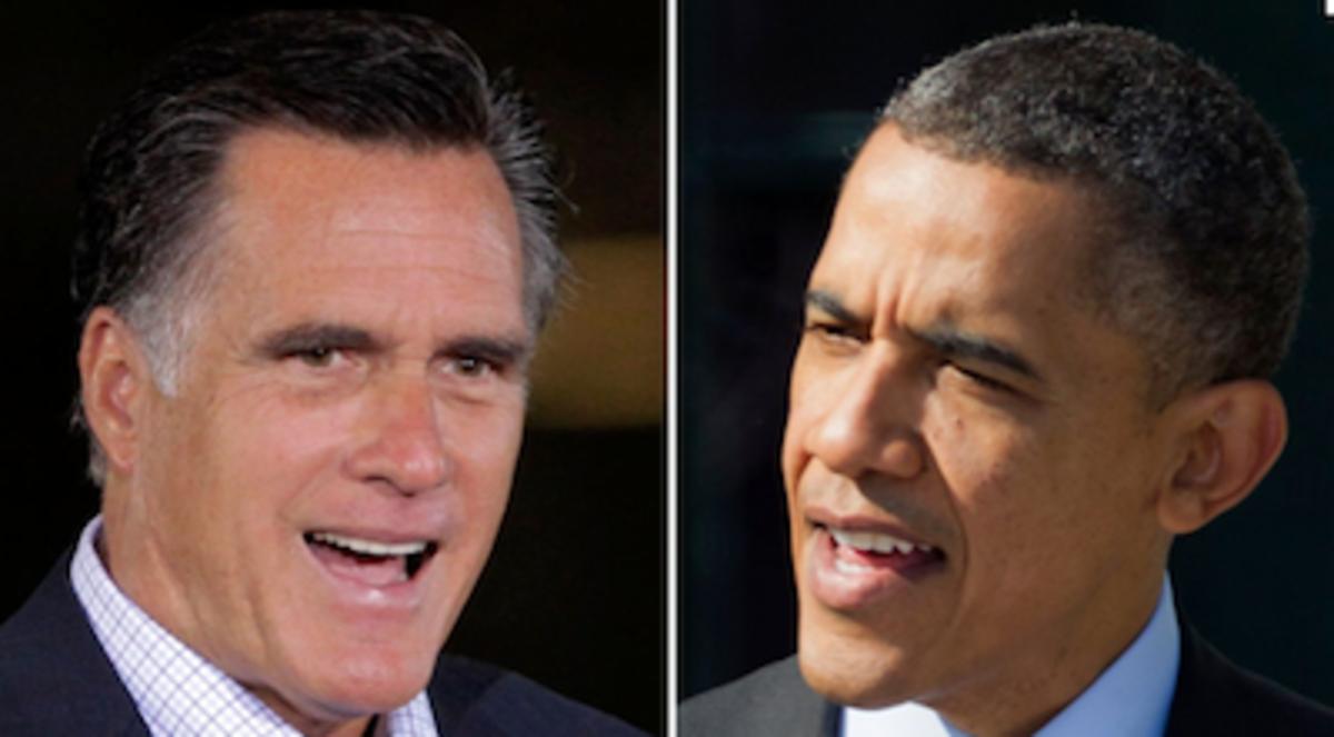 Obama vs Romney 2