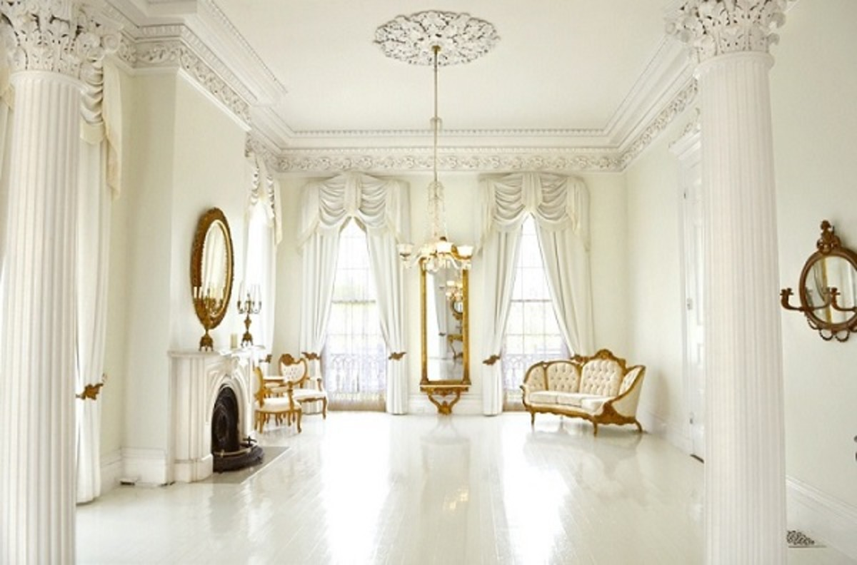 Nottoway Plantation - The White Ballroom