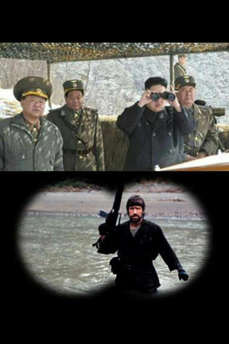 Chuck Norris north korea