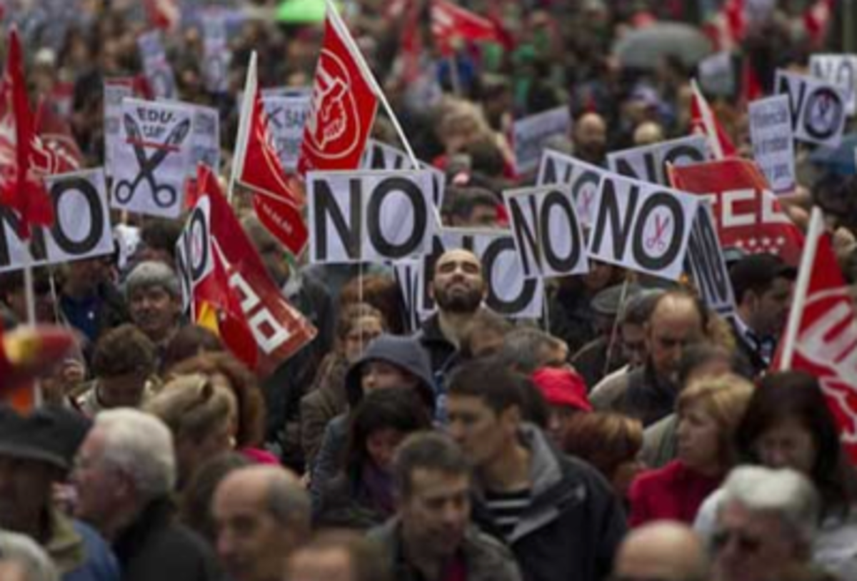 Spain austerity