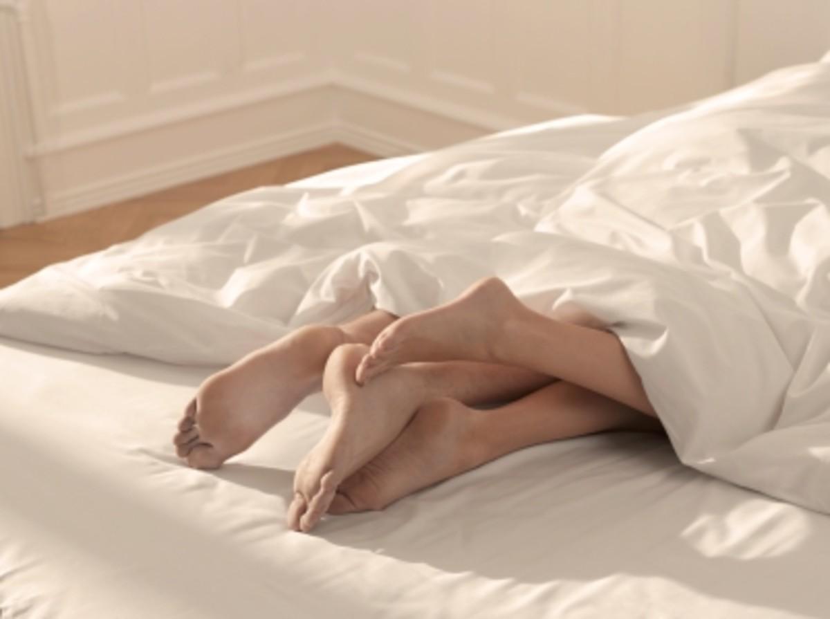 Legs-in-bed