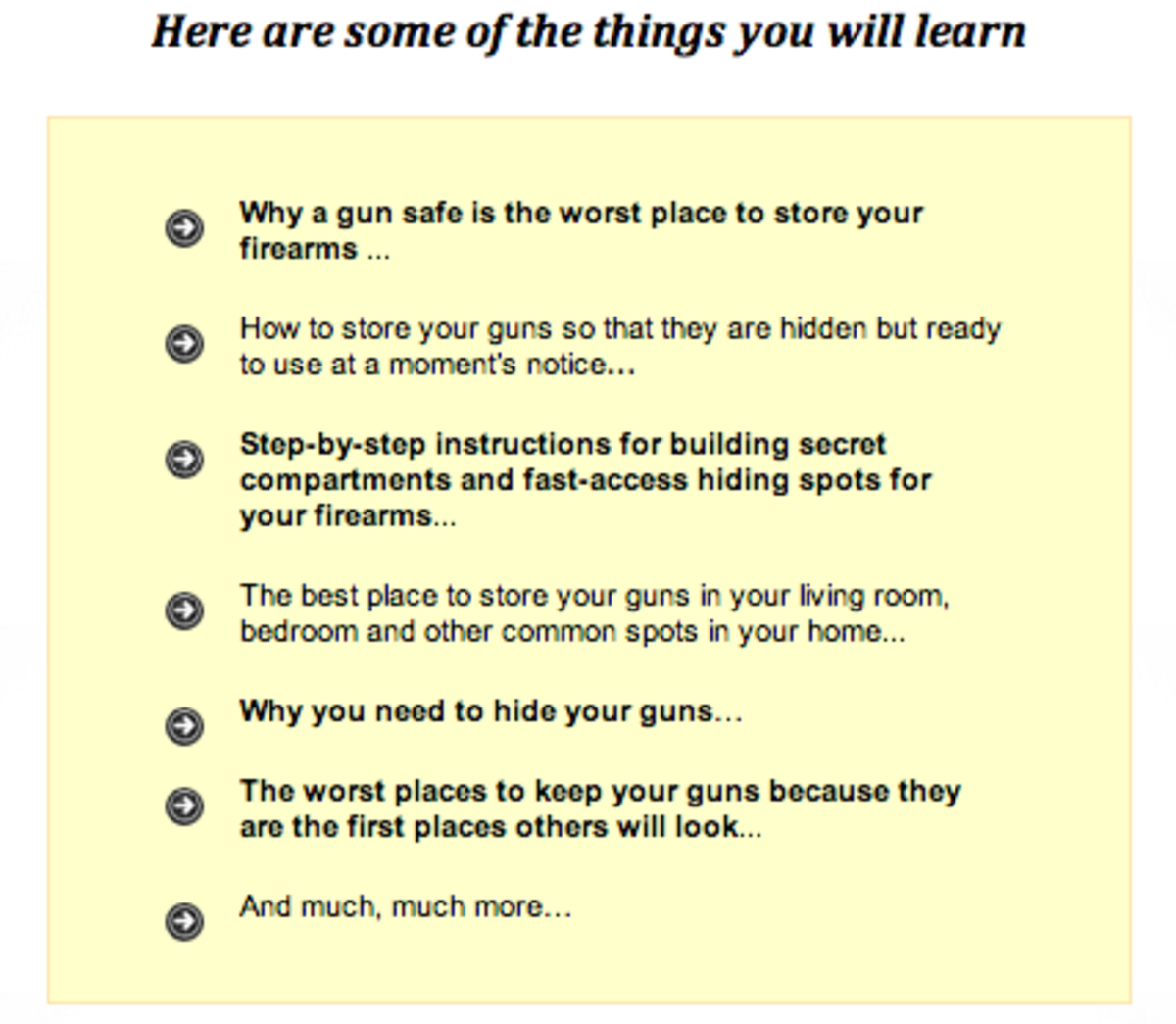 How to Hide your Gun from the Big Bad Government - The Daily