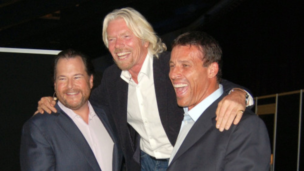 tony robbins rich friends
