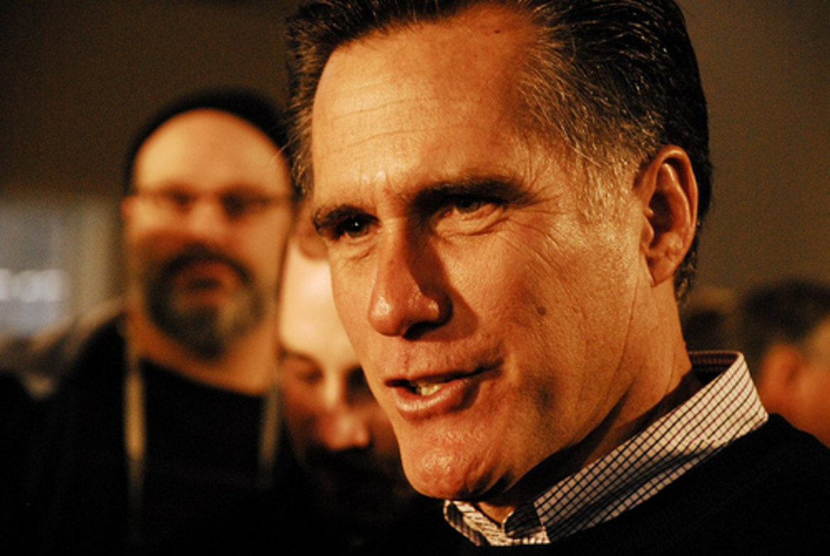 Mitt Romney visits Peterborough 2 by Tim Somero.