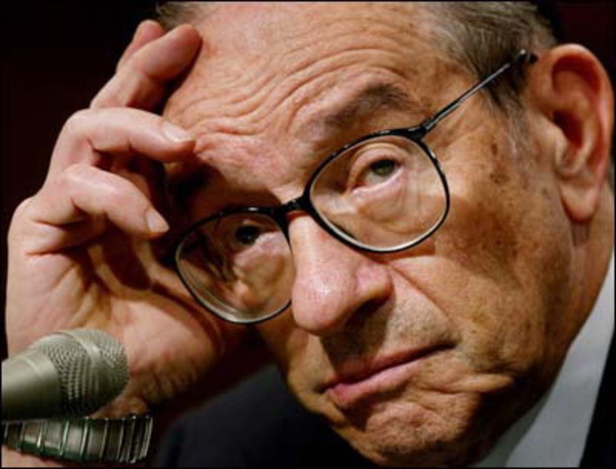 Alan Greenspan by trackrecord.