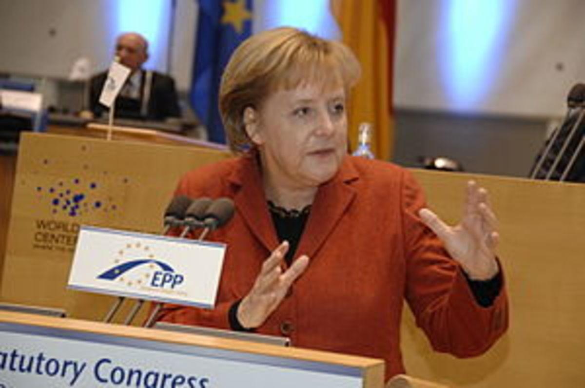 Angela Merkel EPP Congress Bonn 2009