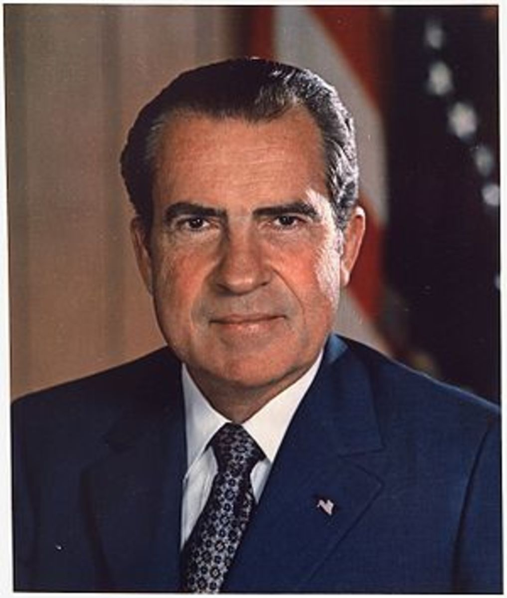 Richard Milhous Nixon, 37th President of the U...