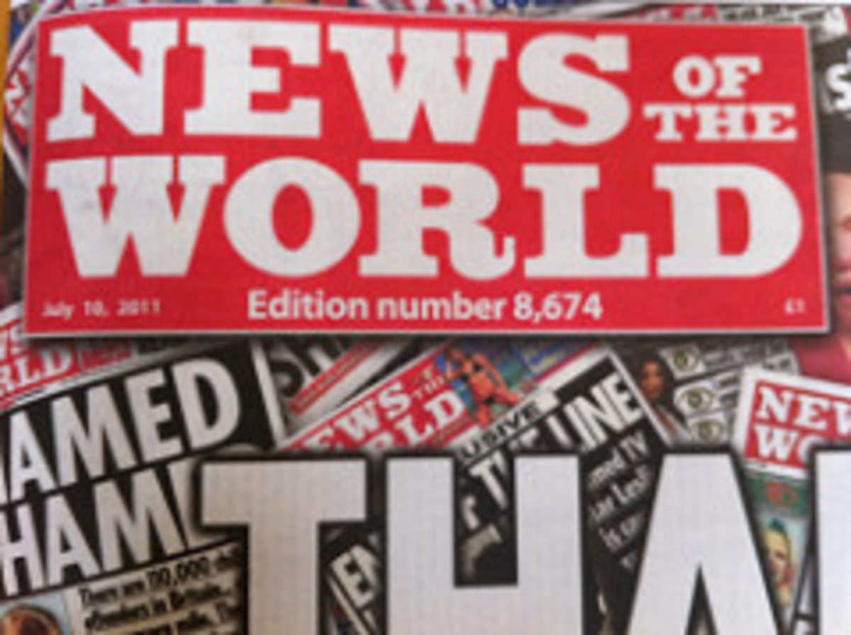 Final edition of News of the World