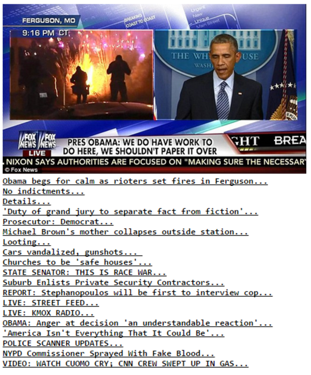 Gross: Here's How Conservative Media Is Covering Ferguson - The