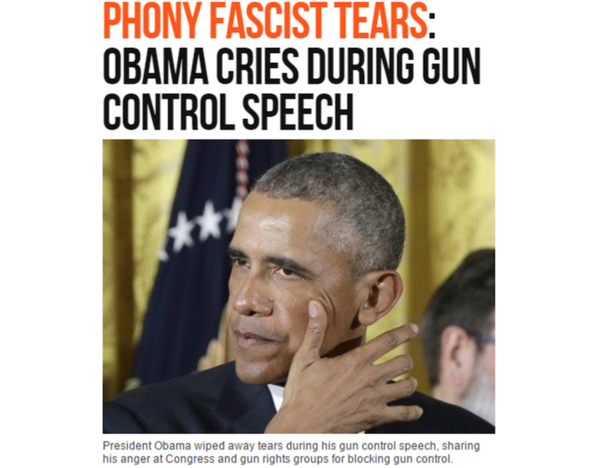 The Right-Wing Obama Crying Conspiracy Theories Are Rolling In