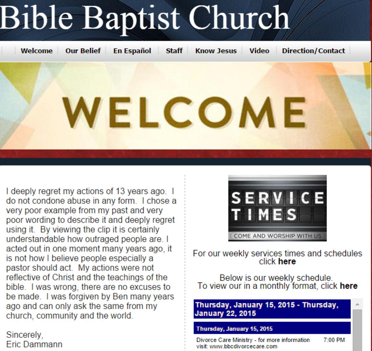 Welcome to BibleBaptist.net