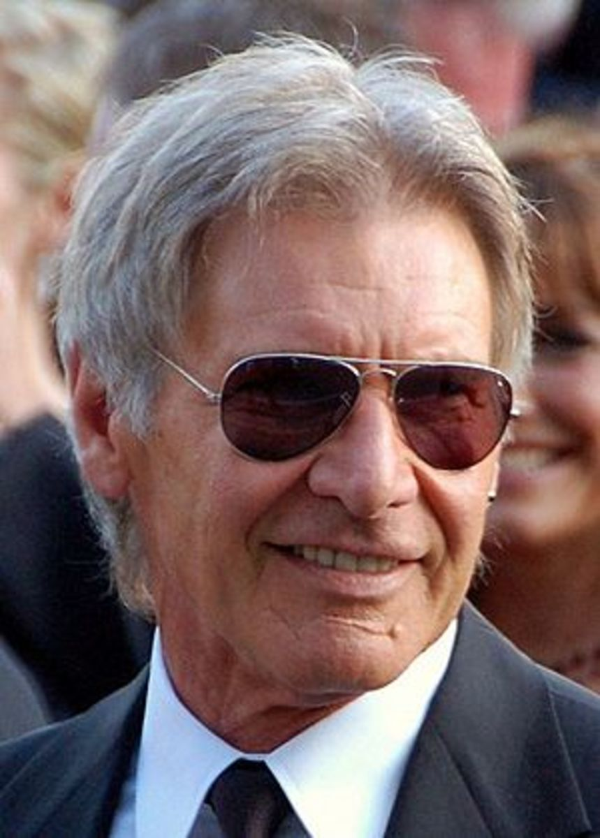 Harrison Ford at the Cannes film festival.