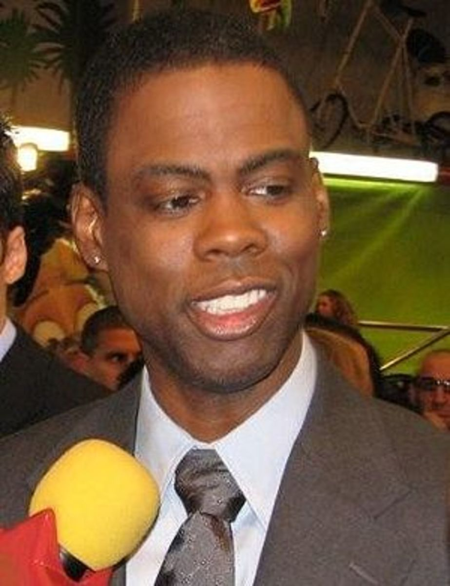 English: Chris rock at Madagascar 2 premiere i...