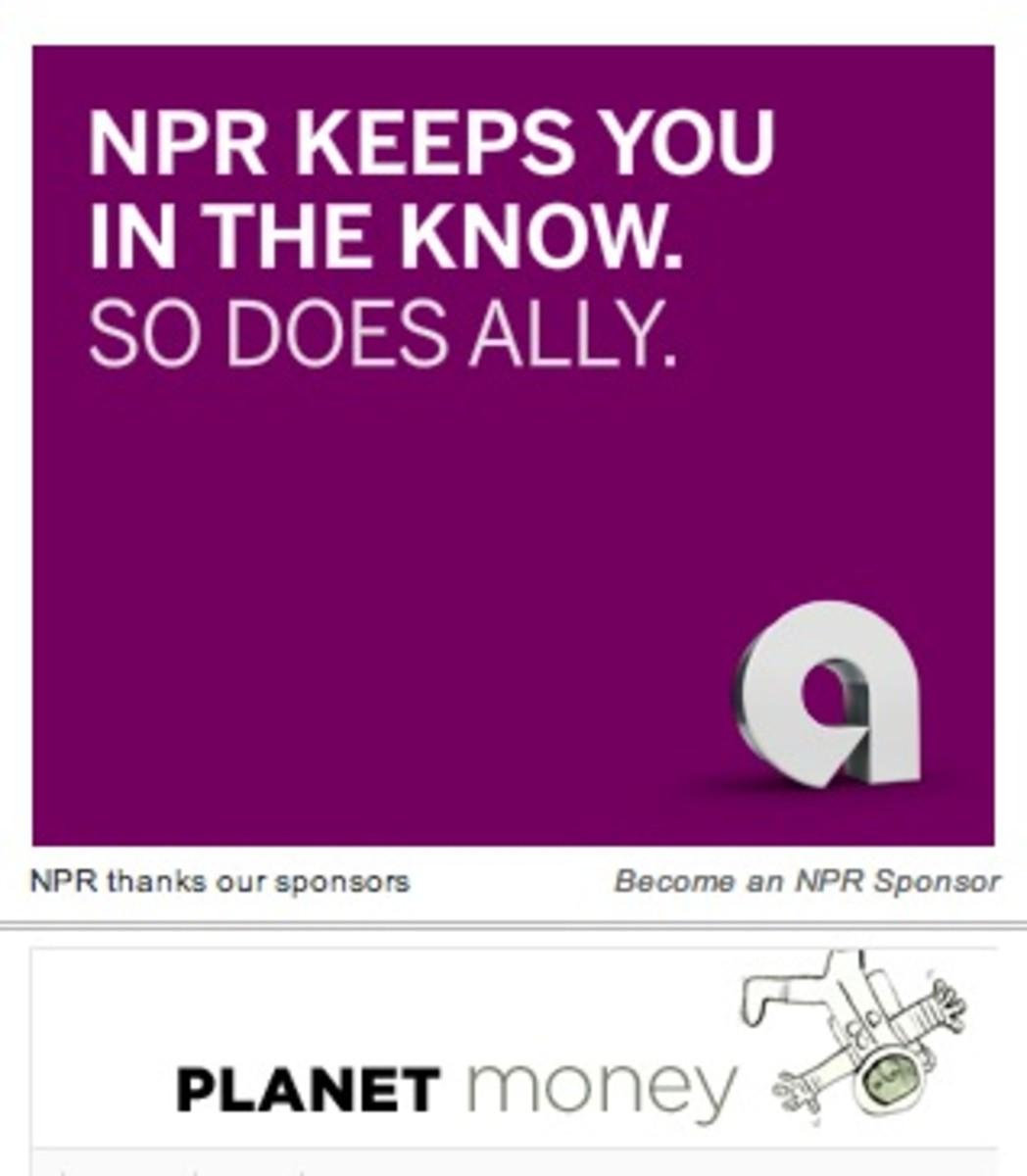 planet-money-ally-bank-exclusive sponsor