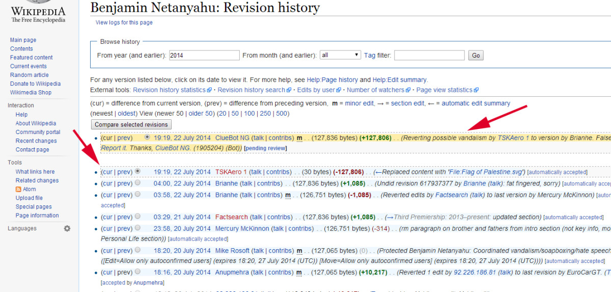 netanyahu_edit_history