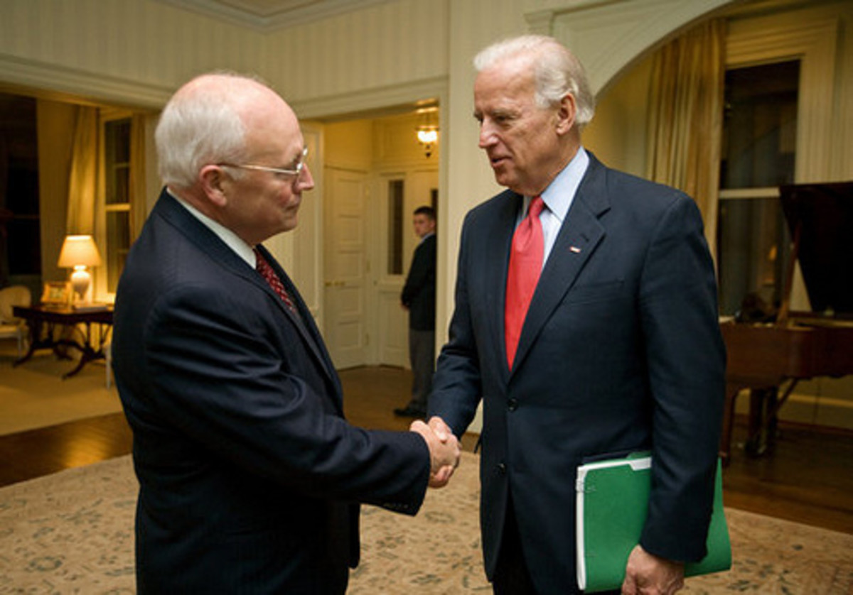 Joe Biden and Dick Cheney by blackenterprisedotcom.