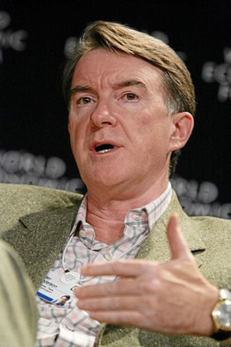 DAVOS/SWITZERLAND, 27JAN07 -Peter Mandelson, C...