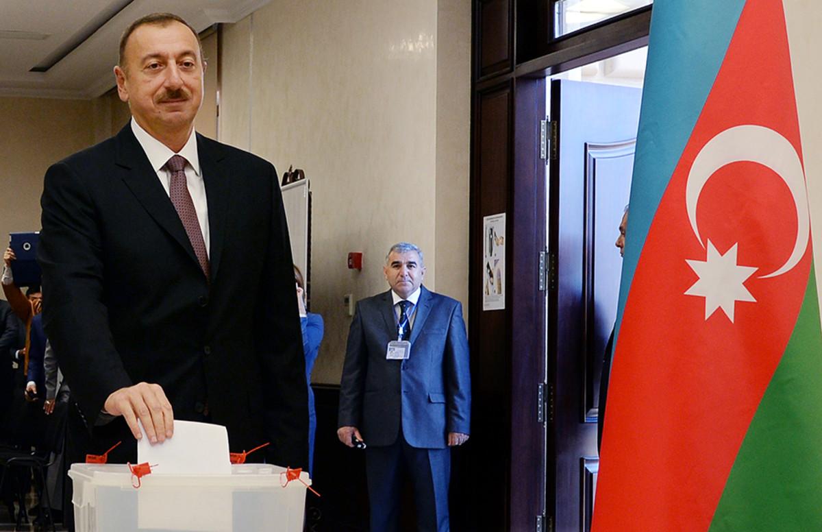 AZERBAIJAN-POLITICS-VOTE-ALIYEV