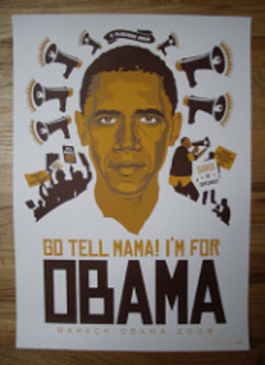 Go Tell Mama I'm Voting for Obama
