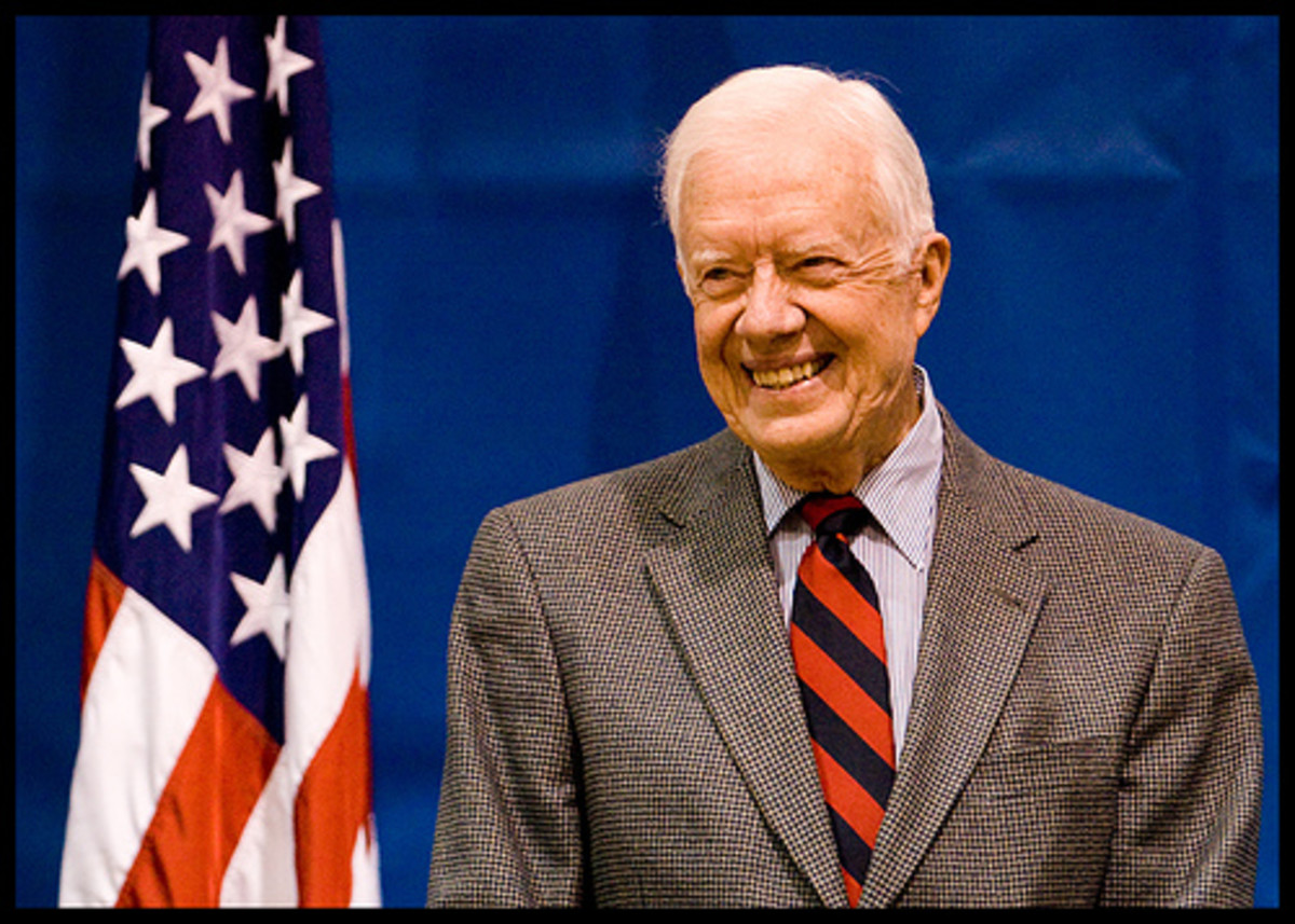 President Jimmy Carter by Nrbelex.