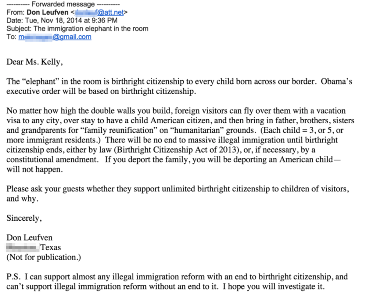 "Angry Trump Fans Keep Emailing This Poor Woman Whose Name Is Almost ""Megyn Kelly"""