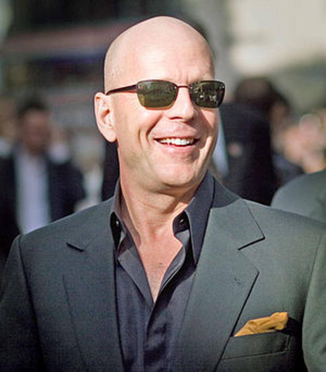 Bruce Willis at a Live Free or Die Hard (Die H...