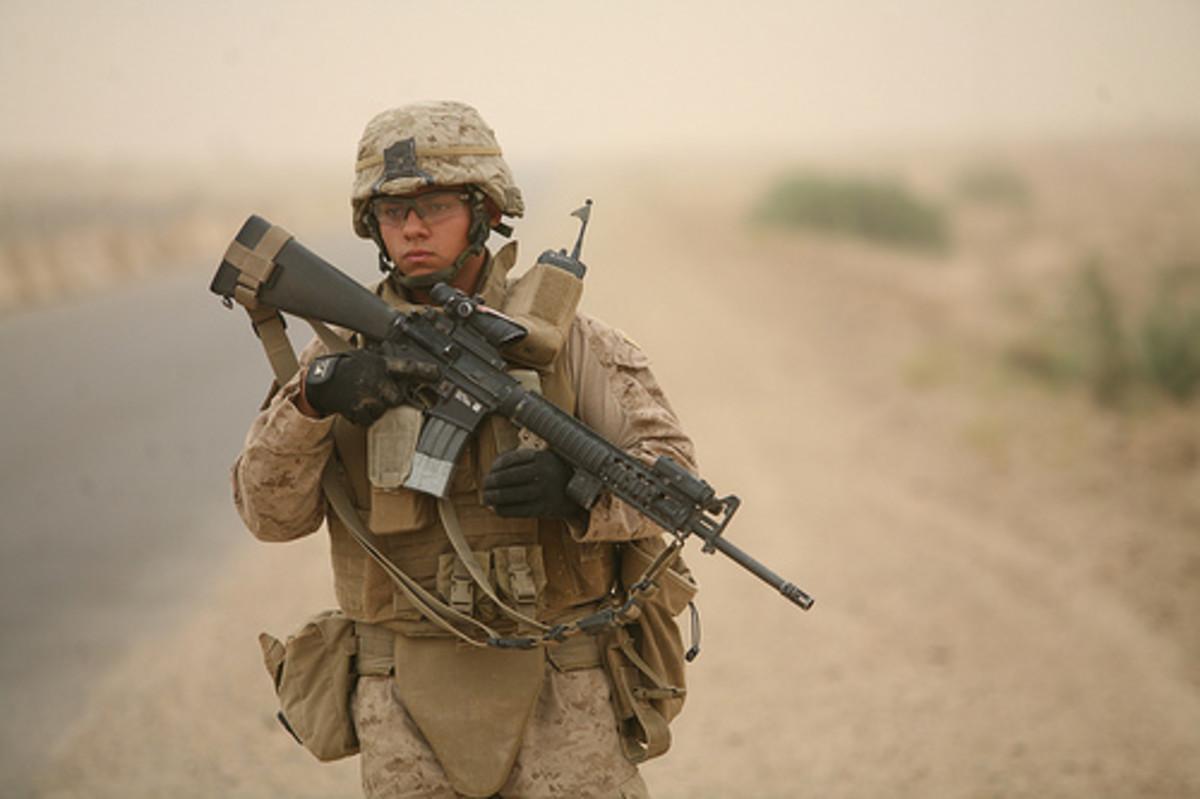 Marine In Iraq