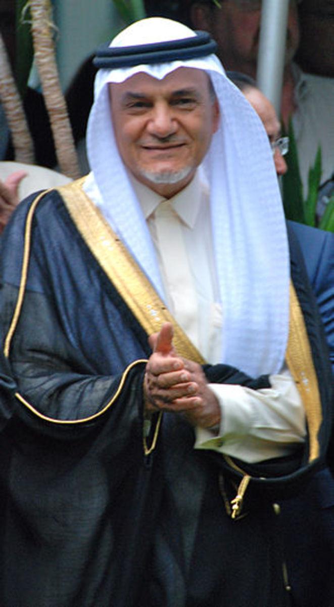Photographic portrait of Turki bin Faisal Al S...