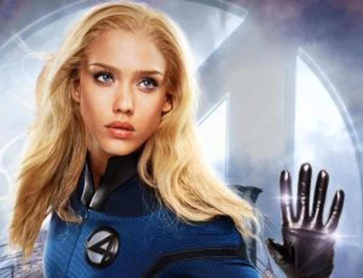 jessica alba in fantastic four 2