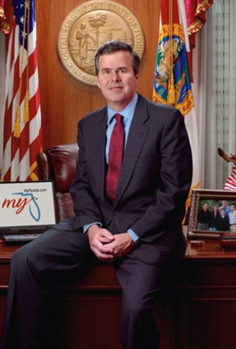 Official photo of former Florida Governor Jeb Bush